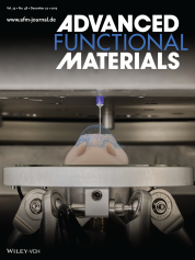 Cover of Advanced Functional Material